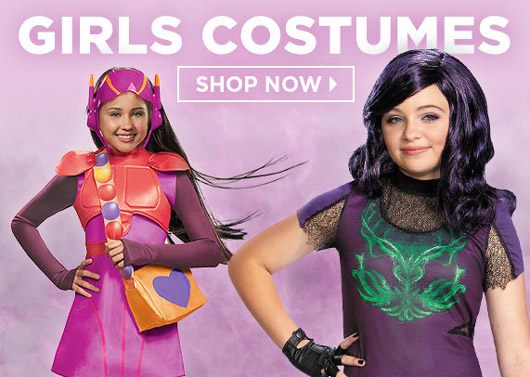 NEW Halloween Costumes For Girls
